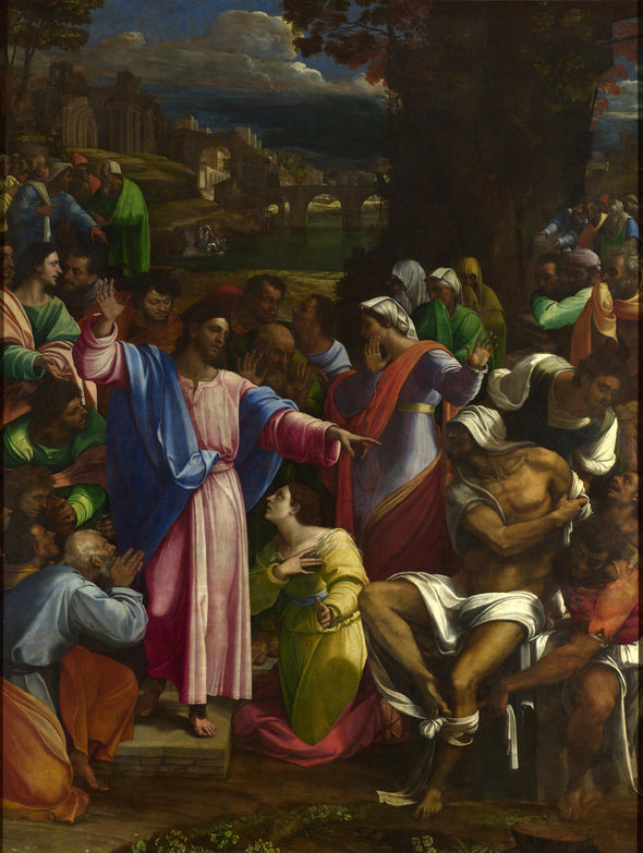 Sebastiano del Piombo - The Raising of Lazarus