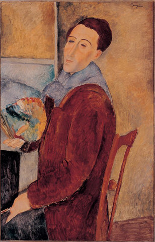 Amedeo Modigliani - Self-Portrait