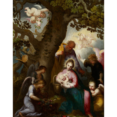 Abraham Bloemaert - Flight into Egypt - Get Custom Art