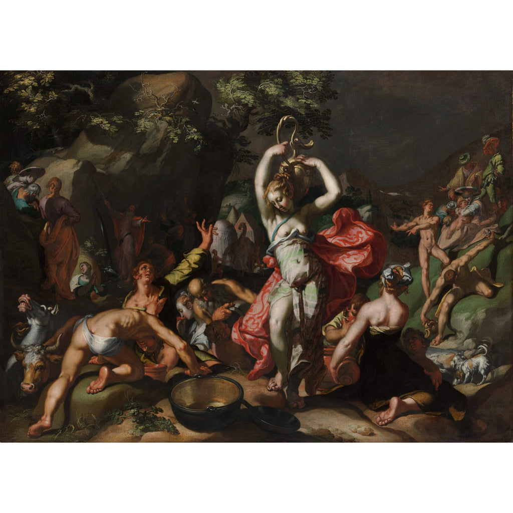 Abraham Bloemaert - Moses Striking the Rock