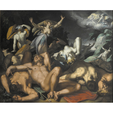 Abraham Bloemaert - Niobe mourning her children - Get Custom Art