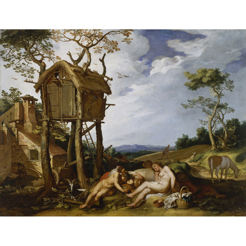 Abraham Bloemaert - Parable of the Wheat and the Tares