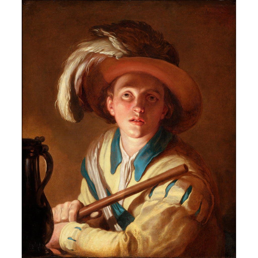Abraham Bloemaert - The flute player - Get Custom Art