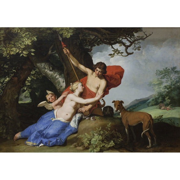 Abraham Bloemaert - Venus and Adonis - Get Custom Art