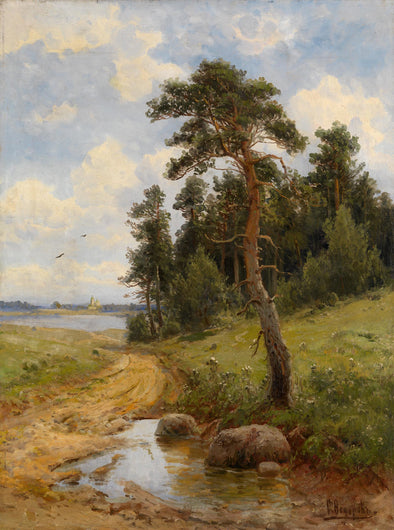 Simeon Fedorovich Fedorov - Country Road