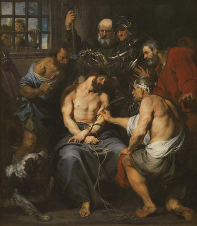 Sir Anthony van Dyck - Christ Crowned with Thorns