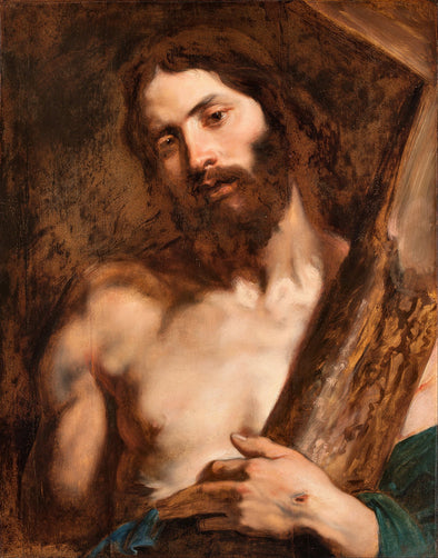 Sir Anthony van Dyck - Christ carrying the Cross