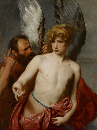 Sir Anthony van Dyck - Daedalus and Icarus