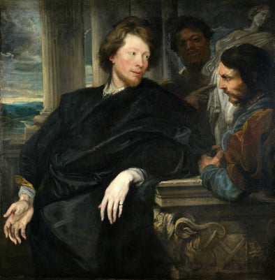 Sir Anthony van Dyck - George Gage and an Unidentified Dealer