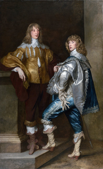 Sir Anthony van Dyck - Lord John Stuart and his Brother Lord Bernard Stuart