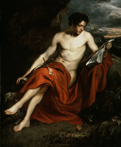 Sir Anthony van Dyck - Saint John the Baptist in the Wilderness