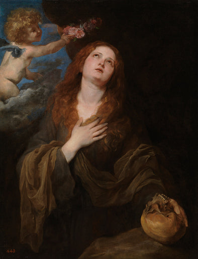 Sir Anthony van Dyck - St Rosalie in Glory