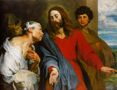 Sir Anthony van Dyck - The Mocking Of Christ