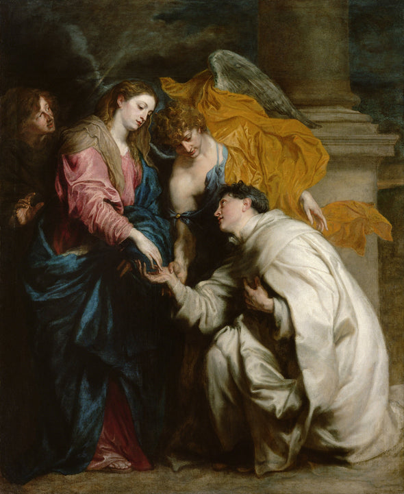 Sir Anthony van Dyck - The Vision of the Blessed Hermann Joseph