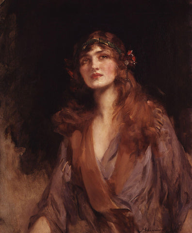 Sir James Jebusa Shannon - Lily Elsie (Mrs Bullough)