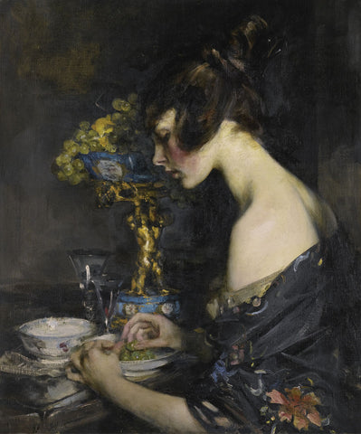 Sir James Jebusa Shannon - The Sevres Vase