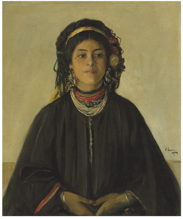 Sir John Lavery - Aida, a Moorish Maid