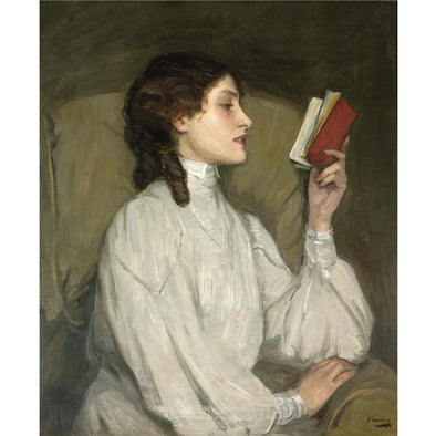 Sir John Lavery - Miss Auras, The Red Book