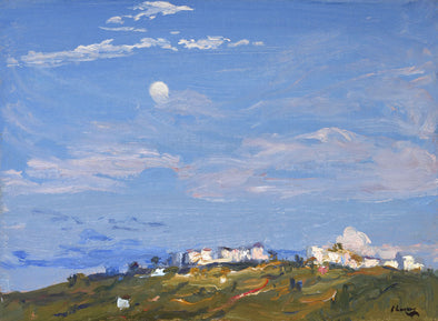 Sir John Lavery - Moonrise