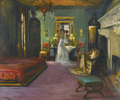 Sir John Lavery - Mrs Rosen's Bedroom