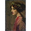 Sir John Lavery - Portrait of a Lady