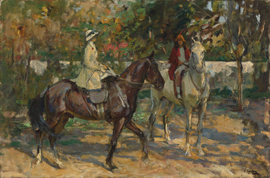Sir John Lavery - The Morning Ride
