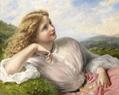 Sophie Anderson - The Song of the Lark