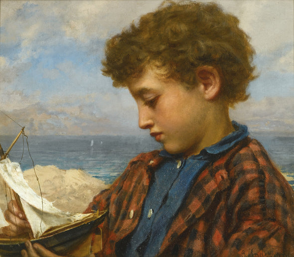 Sophie Anderson - The Young Yachtsman