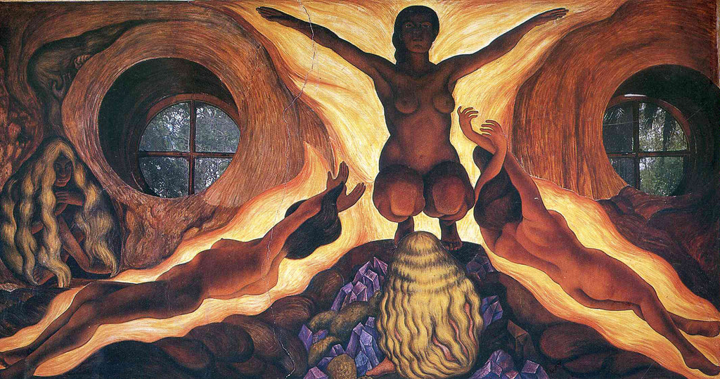 Diego Rivera - Subterranean Forces