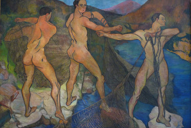 Suzanne Valadon - Casting of the Net