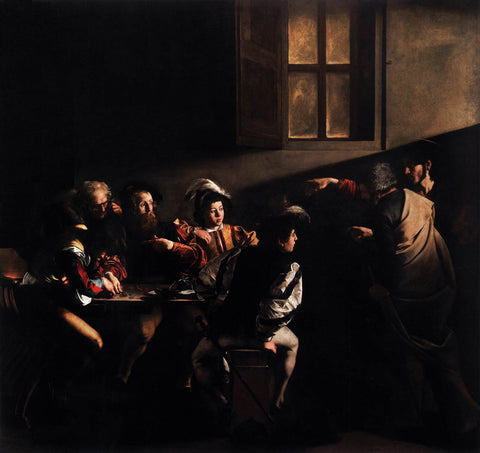 Caravaggio - The Calling of Saint Matthew