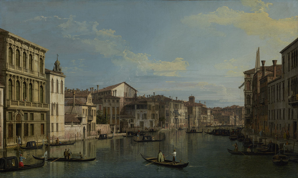 Canaletto - The Grand Canal in Venice from Palazzo Flangini to Campo San Marcuola
