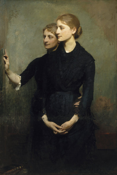 Abbott Handerson Thayer - The Sisters - Get Custom Art