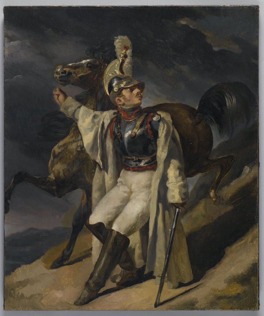 Théodore Géricault - The Wounded Cuirassier