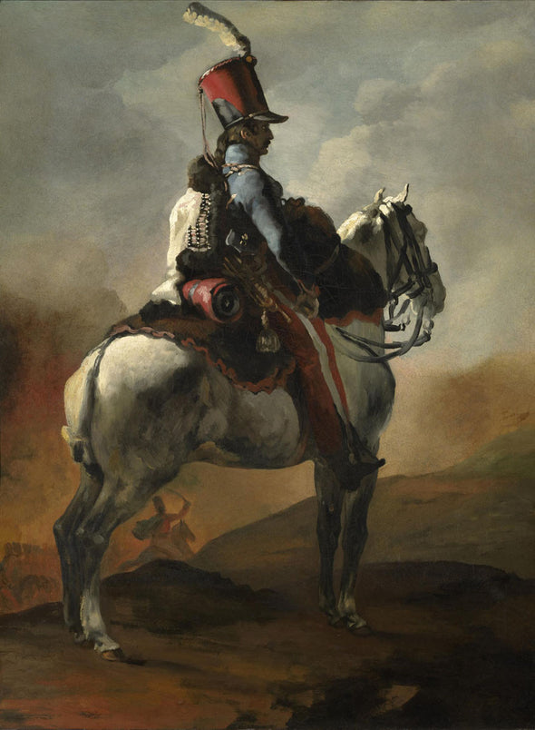 Théodore Géricault - Trumpeter of the Hussars
