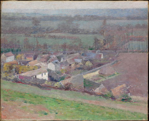 Theodore Robinson - A Bird's-Eye View