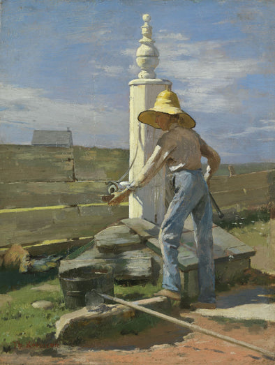 Theodore Robinson - Nantucket Pump