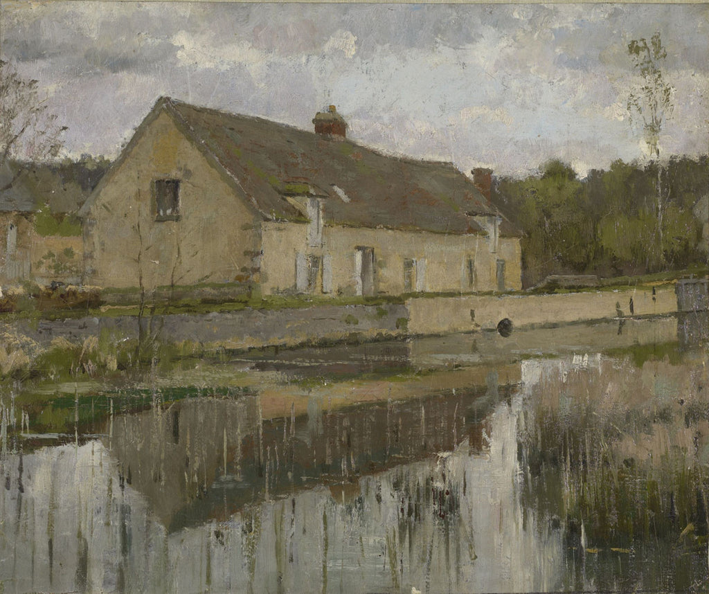 Theodore Robinson - On the Canal