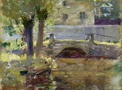 Theodore Robinson - The Bridge at Giverny