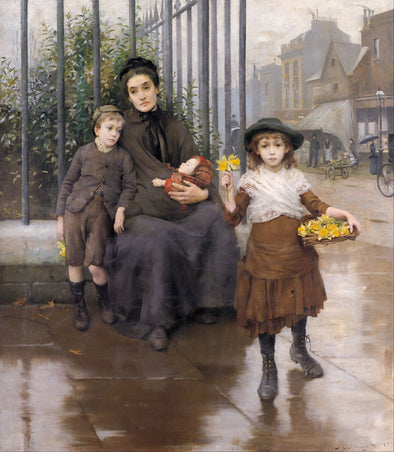 Thomas Benjamin Kennington - The Pinch of Poverty