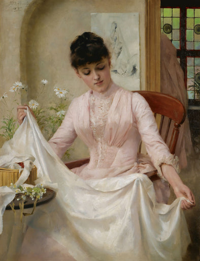 Thomas Benjamin Kennington - The Wedding Dress
