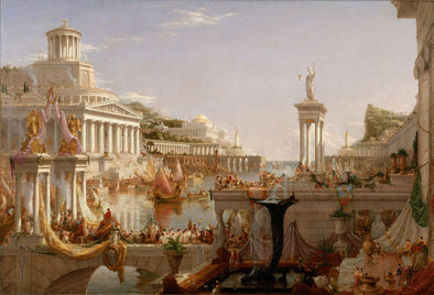 Thomas Cole - The Course of Empire Consummation