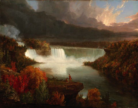 Thomas Cole - Distant View of Niagara Falls