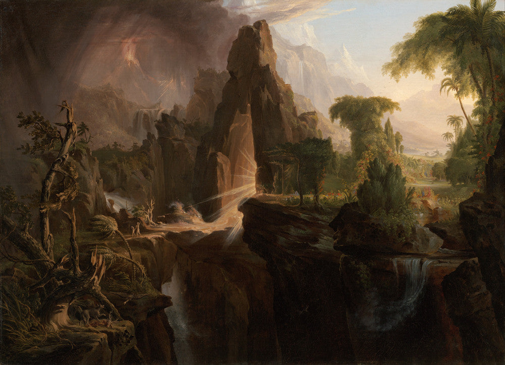 Thomas Cole - Expulsion from the Garden of Eden