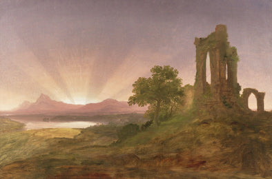 Thomas Cole - Gothic Ruins