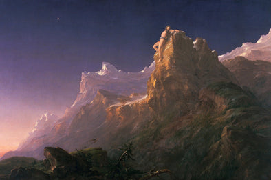 Thomas Cole - Prometheus Bound