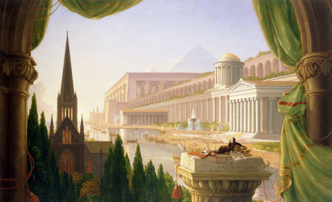 Thomas Cole - The Architect's Dream