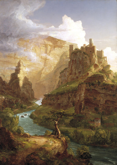 Thomas Cole - The Fountain of Vaucluse