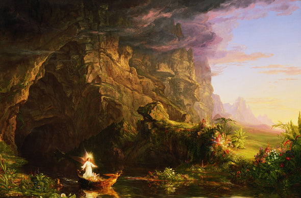 Thomas Cole - The Voyage of Life (Childhood)