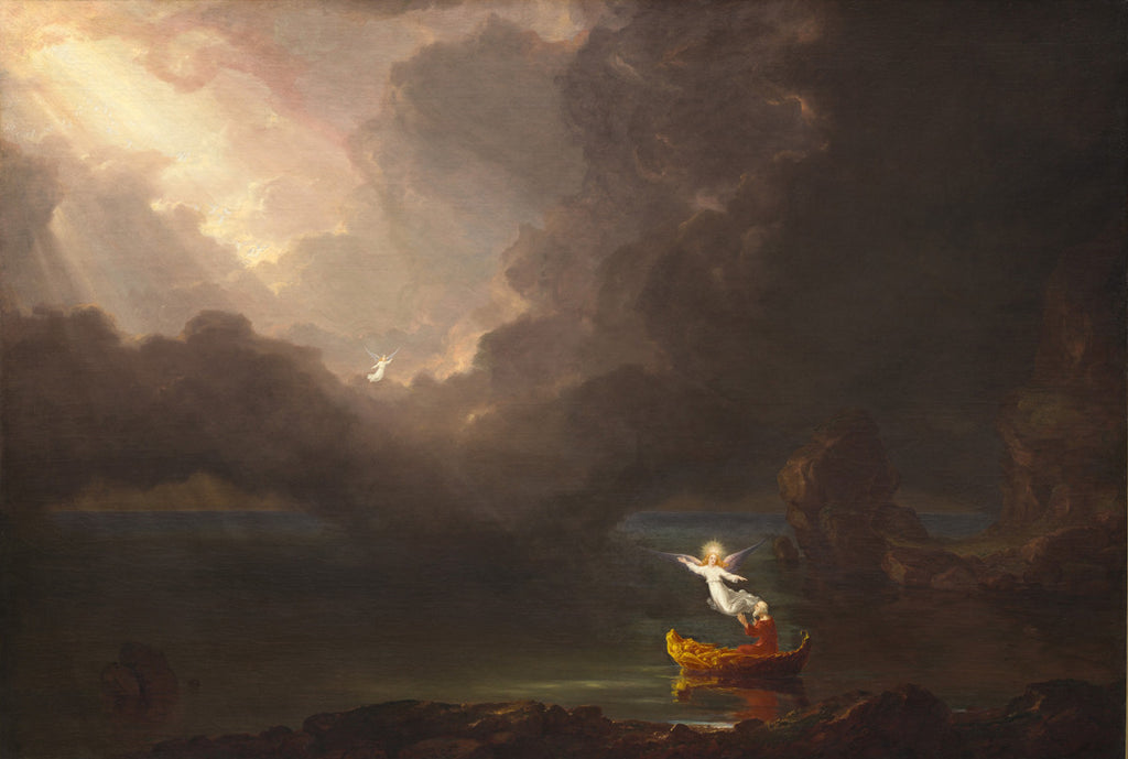 Thomas Cole - The Voyage of Life (Old Age)